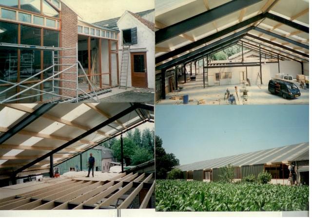 Foto verbouwing 2001-2002